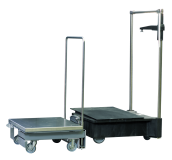 "Cart Air Table Nexpress 20.5"" stacker"