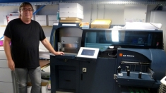 AB Printed reduces wastes and production time by half