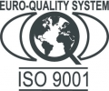 EQS ISO 9001 certification logo