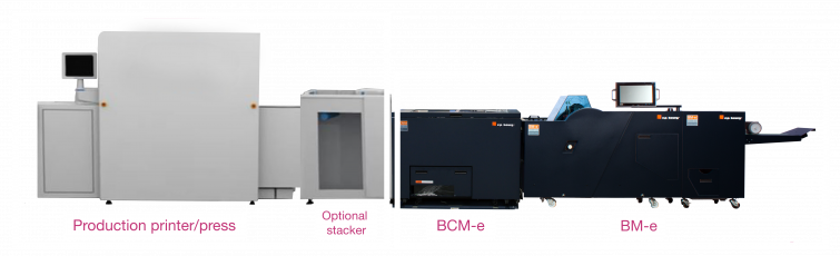 Bourg Booklet Maker BCM-e + BM-e