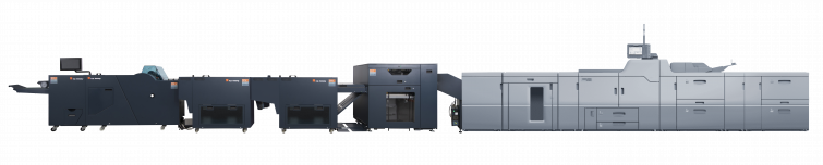 In-Line Bourg Booklet Makers with Heidelberg