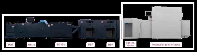 Bourg Booklet Maker BSF + BSF + BCM-e + BM-e + SQE - C P  Bourg