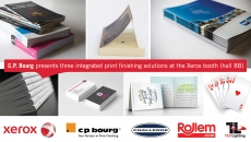 C.P. Bourg to showcase multiple finishing solutions integrated with Xerox digital printers at drupa 2016