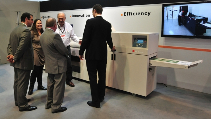 C.P. Bourg Unveils Purpose-Built BDFNx Finisher for Predictable Workflows at Drupa 2012