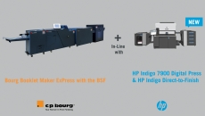 C.P. Bourg announces advanced integration with the new HP Indigo 7900 Digital Press and HP Indigo Direct-to-Finish