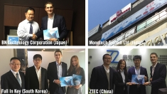 Four new distribution partners in Asia Pacific for C.P. Bourg