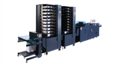 C.P. Bourg Unveils New Technology Large Format Tower Collator at Print