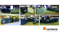C.P. Bourg Teams with the Top Digital Print Partners to Give Final Graph Expo-Chicago Showgoers a Great Finish
