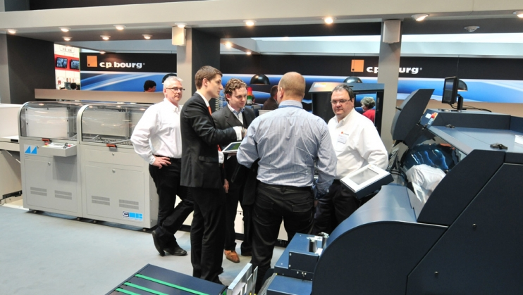 C.P. Bourg Announces Next-Generation Perfect Binder for Automated In-Line Production of Digitally Printed Books